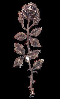 Bronse rose langstilket 840B